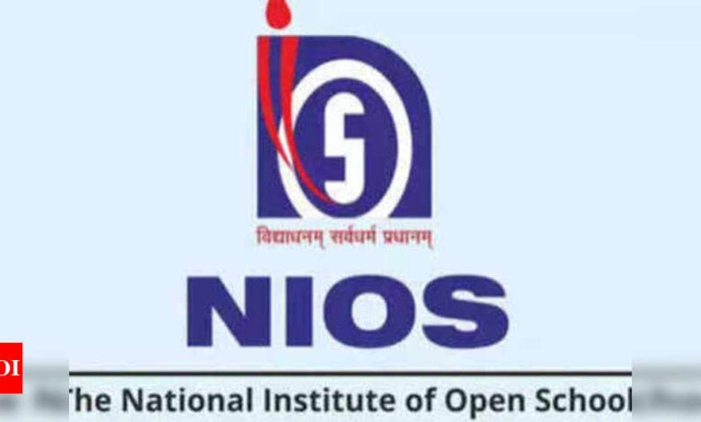 NIOS Board exam fee payment last date extended till May 15, link available on sdmis.nios.ac.in