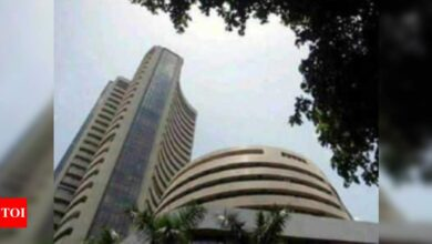 Photo of Sensex tanks over 450 points in early trade; Nifty slips below 14,800
