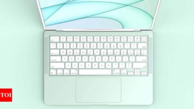 Photo of MacBook Air may come with white bezels, redesigned keyboard
