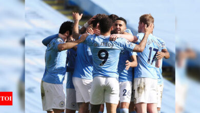Photo of Manchester City crowned Premier League champions as Leicester win at Man United | Football News – Times of India
