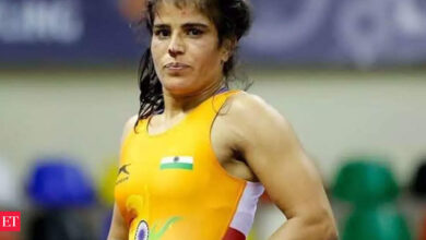 Photo of Seema gets gold; Greco Roman wrestlers bite dust at World Olympic Qualifiers