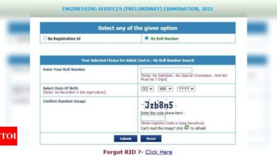 Photo of UPSC ESE admit card 2021 released, here's direct link