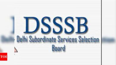 Photo of DSSSB Tier I exam date released for various posts, check here