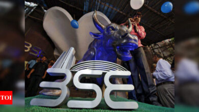 Photo of Sensex rises 393 points led by gains in IT, banking shares; Nifty settles near 15,800