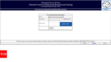 Photo of ntse results 2021: NTSE Stage II result declared, here's direct link