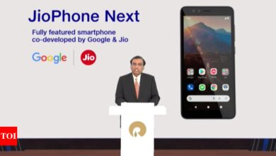 Photo of Reliance announces Jio Phone Next with Google's 'light' Android OS