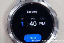 Photo of galaxy watch 4 classic: Samsung Galaxy Watch 4 Classic appears in live images: Here's what's new